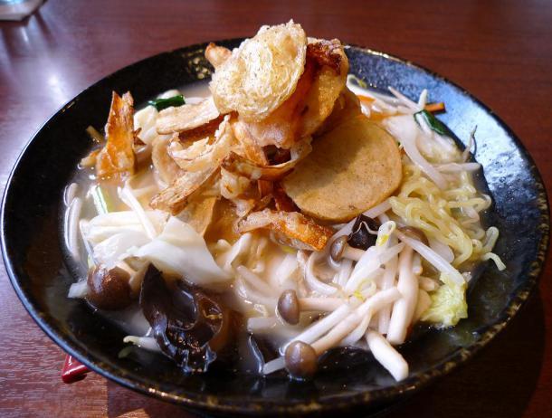 大地野菜タンメン塩892円