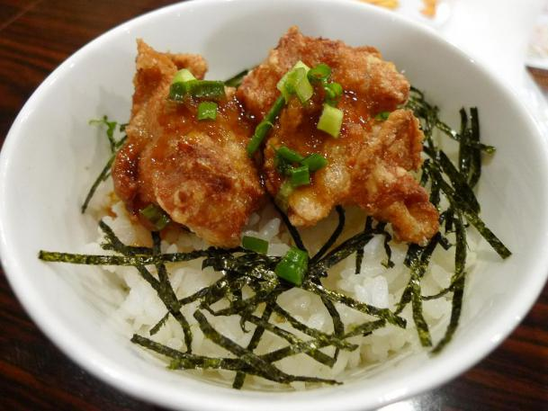 てりやき唐揚げ丼セット210円