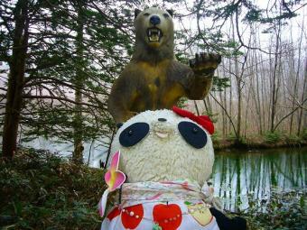 ばぶちゃんクマに遭遇