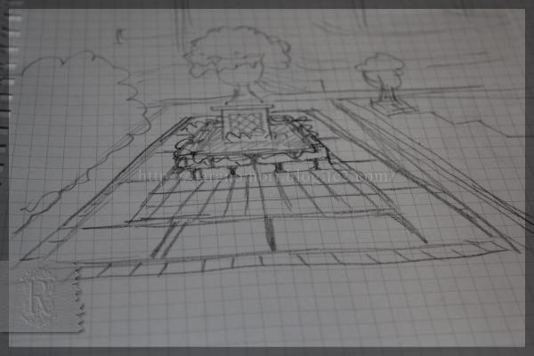 DIY テラス横 メインガーデン 20141214