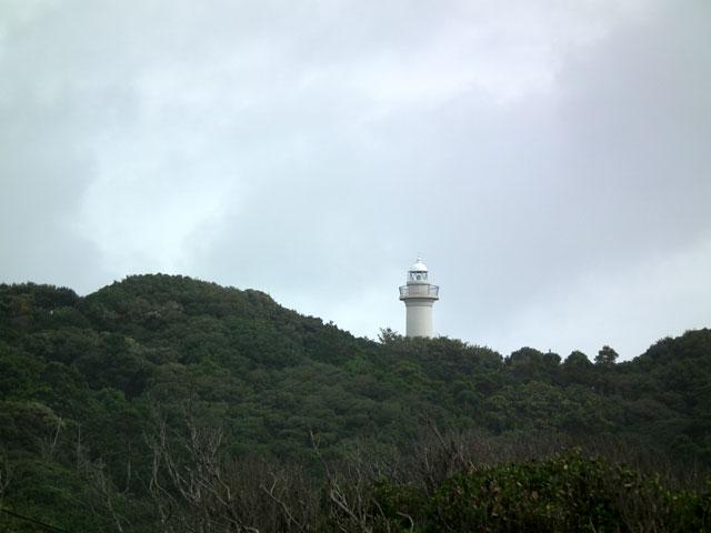 宿から徒歩十数分にある太東崎灯台
