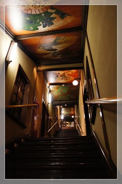 雅叙園階段