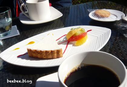 白鷺邸チーズケーキ