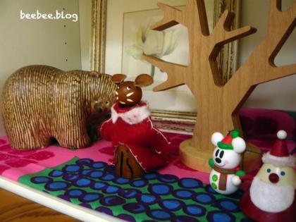 リビングのクリスマス