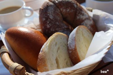レイベイクカフェのパン