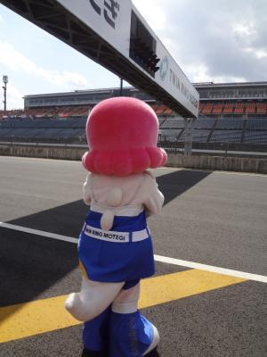 レースに夢中
