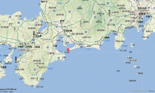 伊良湖岬 地図
