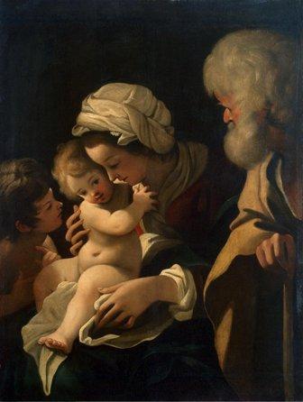 聖家族と洗礼者ヨハネ