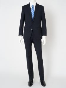スーツ 無地紺