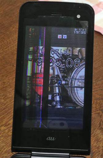 PT003液晶破壊