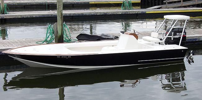 Wkp Get Poling Skiff Boat Plans