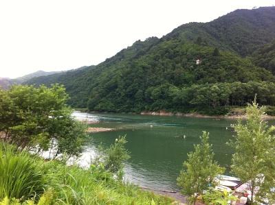 奥只見湖景色