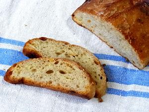 ホワイトチョコ×柑橘ピールのパン