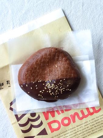 焼き栗ドーナツ チョコ