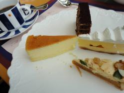 カフェトスカ ケーキ