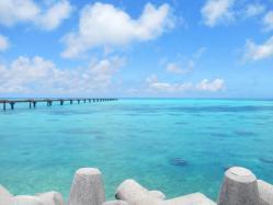 下地島の海