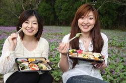 7桜にちなんだKIMOTOのお弁当いただきま~す