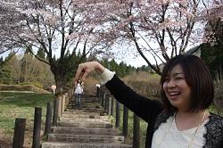 22田沢湖県民の森にこびと発見。つかまえよ~