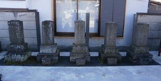 円福寺名主墓