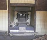 加藤神社内部