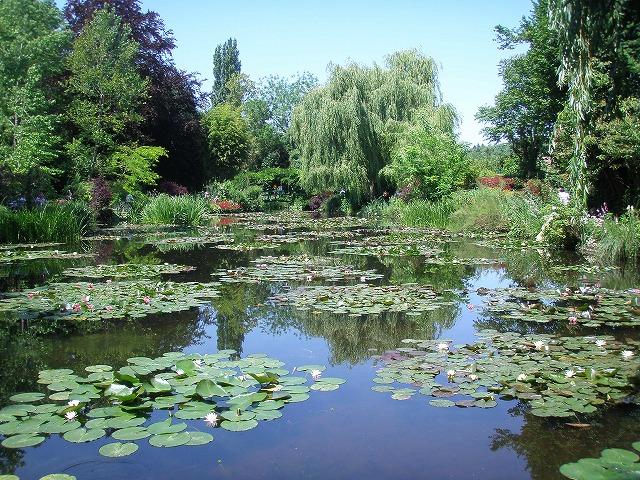 モネ睡蓮池