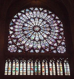 大聖堂バラ窓