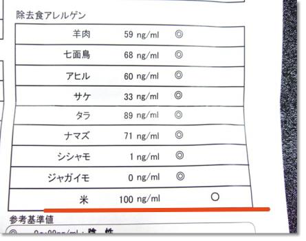 アレルギー検査結果 (4)