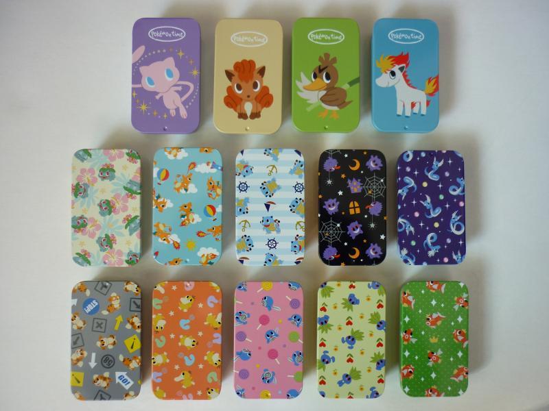プチ缶コレクション pokemon time カラフルラムネ