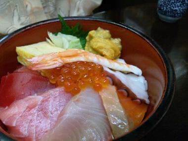 01海鮮丼