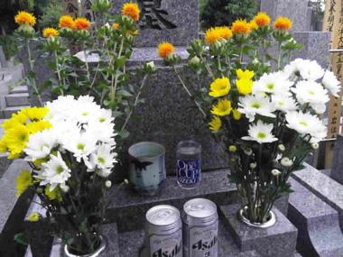 04墓参り