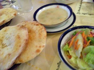 04サラダ、スープ、エキメック