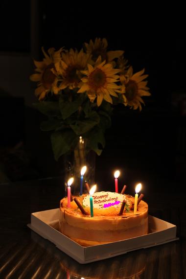 19ひまわりとケーキ のコピーのコピー