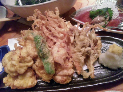 11白子天ぷら