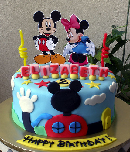 Mickey Mouse Cake Design Images : Great Mickey Mouse Party Theme Ideas to Celebrate a Kids ...