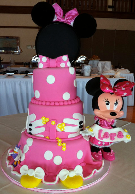 Cake Decorations For Birthday Party : Planning a Terrrific Minnie Mouse Birthday Party jareceqyk