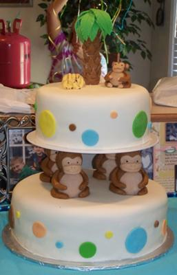Monkey Cake Ideas Jareceqyk