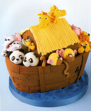 A noahs ark birthday party is the perfect choice for a for Noah s ark decorations