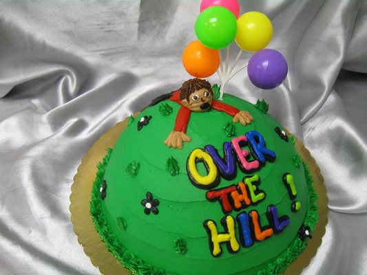 Birthday Cake Ideas Over The Hill Perfectend for