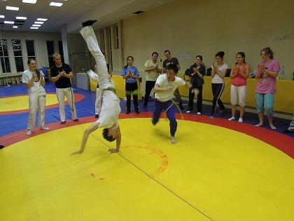 ロシア「Real Capoeira 訪問」@モスクワ