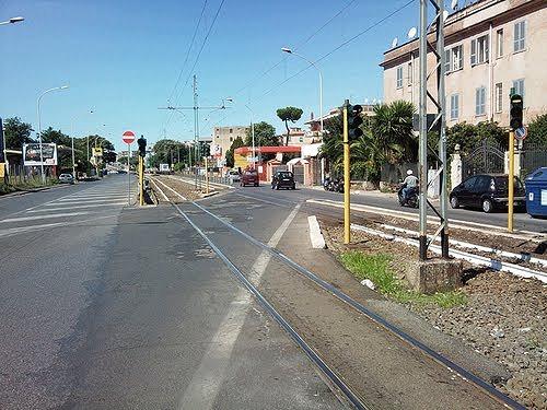 ローマ郊外 辺鄙な場所