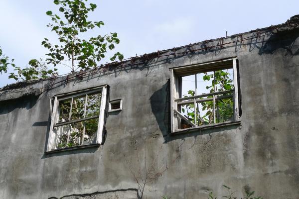 アパート 窓