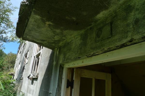 アパート 入口