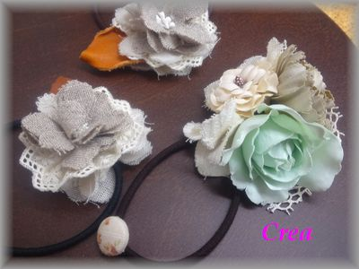 Crea お花のゴム2ブログ