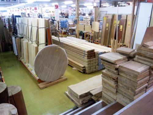 木工資材がたっくさん♪