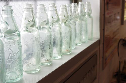 外国のソーダ瓶