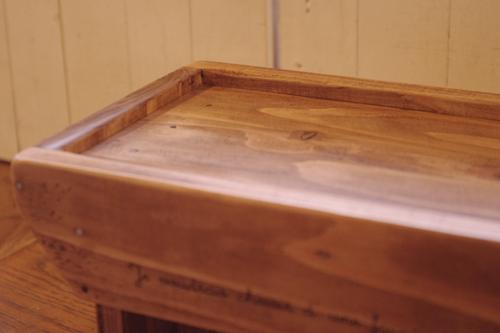 木製のペット用お食事台