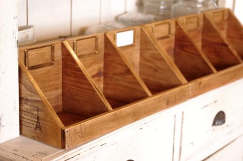 オーダーメイドの木製ラック