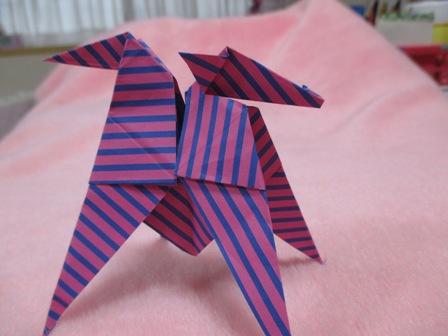 折り紙の作品(Hちゃん9