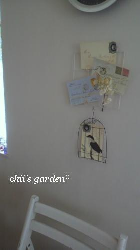 wire birdcage card holder-3