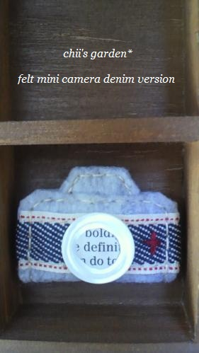 felt mini camera[denim]-3